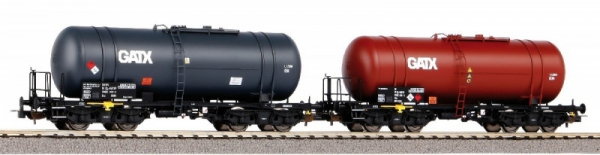 Zestaw wagonów 2 cystern typu 406R PKP GATX VI (58384)