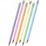 Ołówek okrągły z gumką Colorino Pastel, HB (80844PTR)