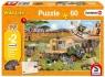 Puzzle 60 Pomagamy zwierzętom G3