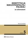 Konstytucja Rzeczypospolitej Polskiej ze schematami Derlatka Marta