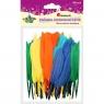 Piórka dekoracyjne, 60 szt. - mix kolorów (338582)