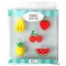 Gumki do mazania - zestaw owocowy