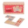 Tradycyjne drewniane domino