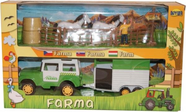 Farma, Zestaw Jeep z maszynami (00484)