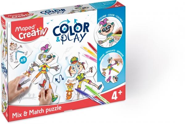 Puzzle do kolorowania