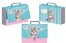 Teczka z rączką - walizeczka Kot