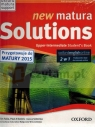 Matura Solutions New 2Ed Upper-Inter SB&Exam Brochure +Online Workbook PL Paul A. Davies, Tim Falla, Joanna Sobierska