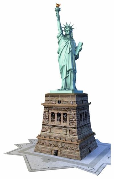 Puzzle 108: Statua Wolności 3D (125845)