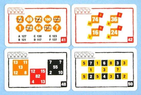 Logic Cards zestaw żółty (105666) Kristaps Auzans