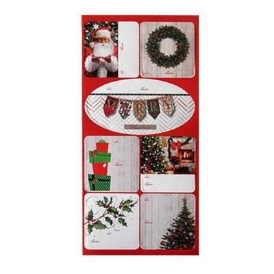 Naklejki do prezentów CHRISTMAS JOY