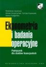 Ekonometria i badania operacyjne