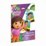 Piaskowe malowanki Dora poznaje świat
