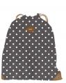 Worko-plecak Basic kropki szary
