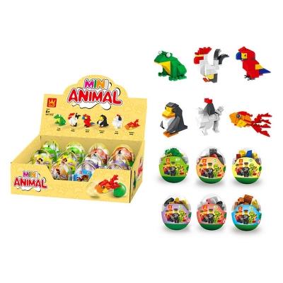 Klocki plastikowe Icom zwierzęta (7129519)