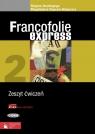 Francofolie express 2 Zeszyt ćwiczeń z płytą CD i płytą CD-ROM La France Supryn-Klepcarz Magdalena, Boutégege Regine
