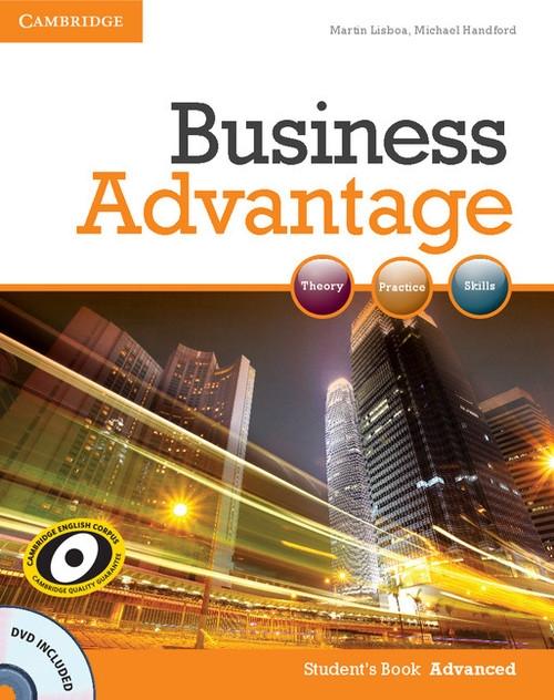 Business Advantage Advanced Student's Book + DVD Lisboa Martin, Handford Michael