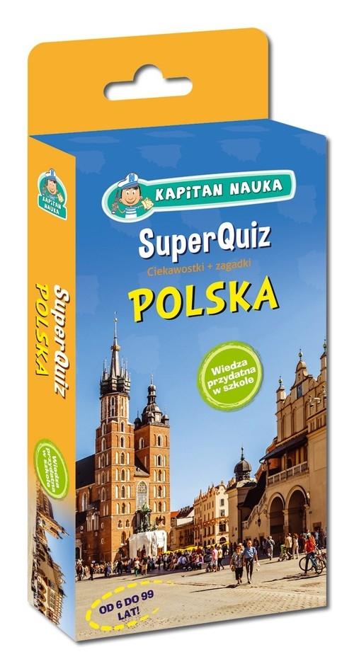 Kapitan Nauka. SuperQuiz - Polska