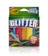 Crayola Glitter Kreda chodnikowa brokatowa 5 sztuk