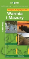 Warmia i Mazury mapa turystyczna 1:250 000