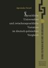 Sprachliche Universalien und zwischensprachliche Variation im deutsch-polnischen Vergleich