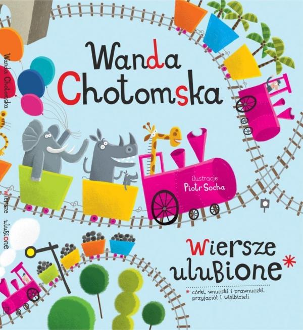 Wiersze Ulubione Chotomska Wanda Muza Księgarnia