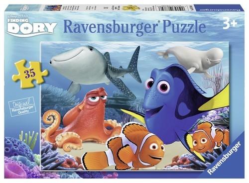 Puzzle Gdzie jest Dory 35 (087846)