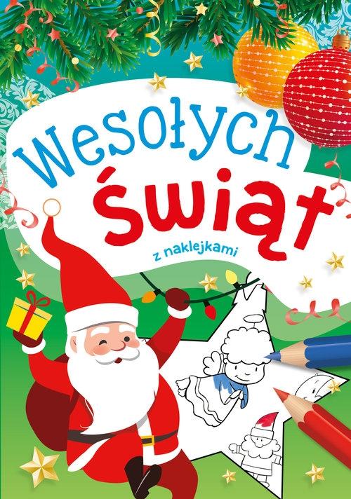 Wesołych Świąt z naklejkami Drabik Wiesław