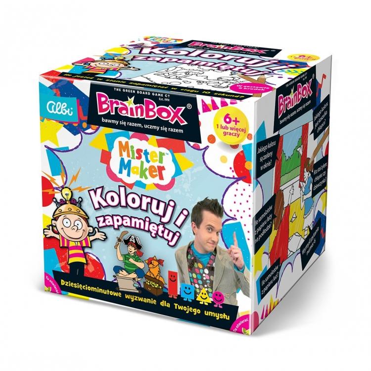 Brainbox. Koloruj i zapamiętuj (74855)