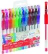 Długopis żelowy z brokatem Fiorello 12 kolorów