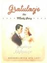 Karnet Ślub Gratulacje dla Młodej Pary SV07
