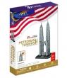 Puzzle 3D Petronas Towers (MC084H)