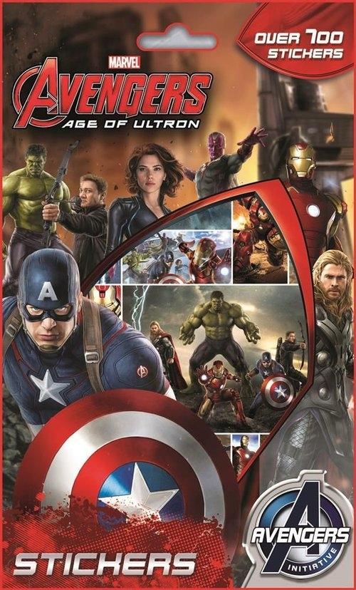 Zestaw 700 naklejek. Avengers II