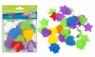 Ozdoba dekoracyjna filc mix kształtów 45szt