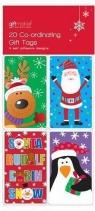 20 dziecięcych karnetów świątecznych