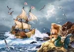Puzzle 500 The Mysteries of the sea (51847) praca zbiorowa