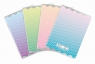 Zeszyt A5/60K kratka Ombre Powder pastel (10szt)