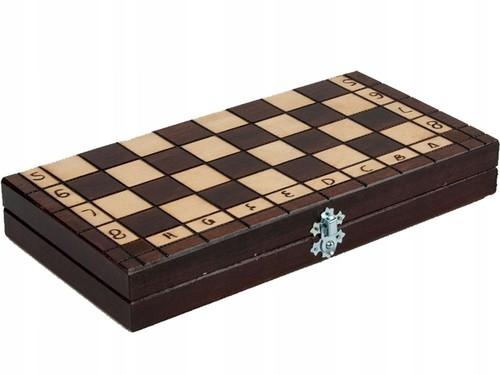 Szachy klasyczne drewniane