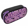 Piórnik Happy Color Pixi, owalny, fioletowy (HA 2213 4510-PI2)