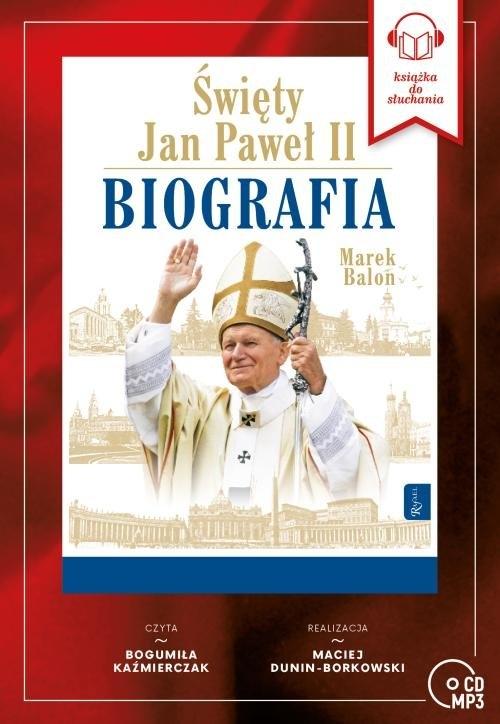 Święty Jan Paweł II. Biografia (Audiobook) Balon Marek