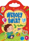 Wesoły świat 3-latka Edukacyjna książeczka z naklejkami