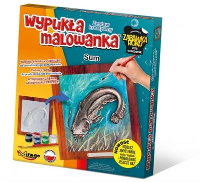 Wypukła Malowanka - Ryba Sum