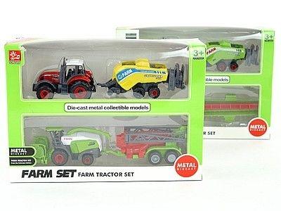 Traktor Adar 2 sztuki, metalowe (522848)