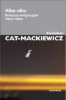 Albo-albo Broszury emigracyjne 1943-1944 Cat-Mackiewicz Stanisław