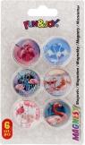 Magnes Fun&Joy FLAMINGI okrągły - mix śr. 30 mm