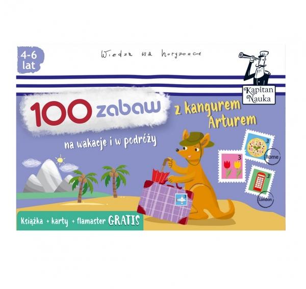 Kapitan Nauka. 100 zabaw z kangurem Arturem