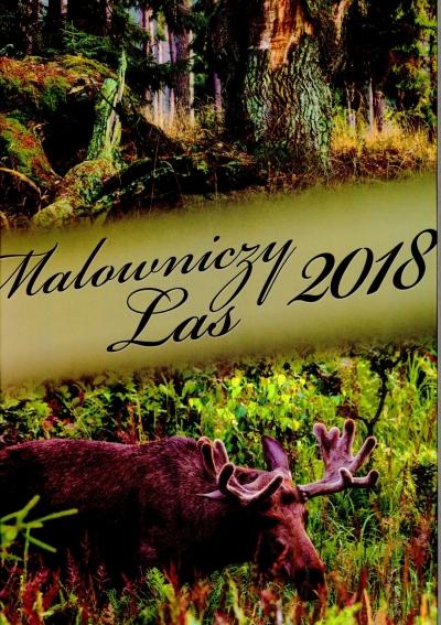 Kalendarz ścienny MALOWNICZY LAS 2018 .