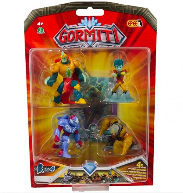 Gormiti - 4-pack z figurek 5 cm MIX (GPGRM10)