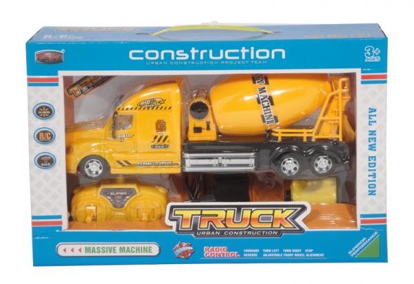 Ciężarówka betoniarka sterowana pilotem
