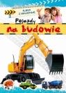 Pojazdy na budowie Album z naklejkami  Bator Agnieszka