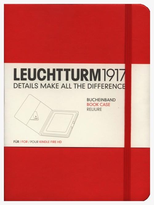 Etui Kindle Fire HD Leuchtturm1917 czerwone